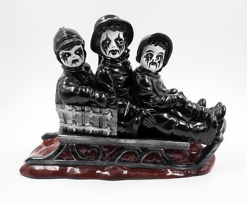 """Dark Winter"" Ceramic Figurine"