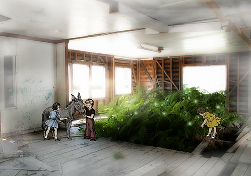 """Unstoppable Nature"" Original Collage Artwork"