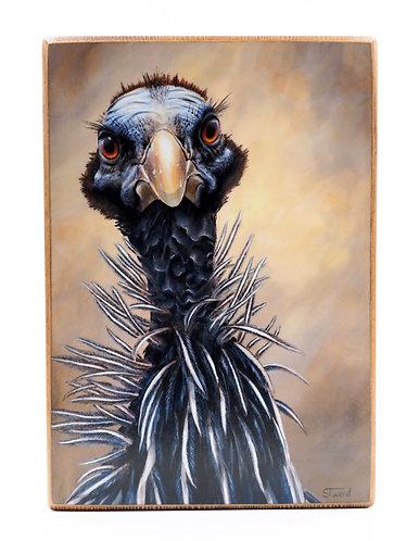 """Bad Bird"" Acrylic Painting | Artist: Sandy Tweed"