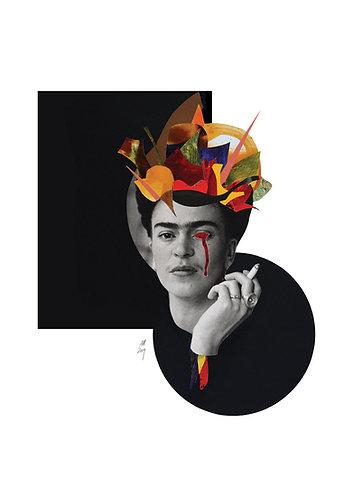 """""""Frida"""" Analog collage"""