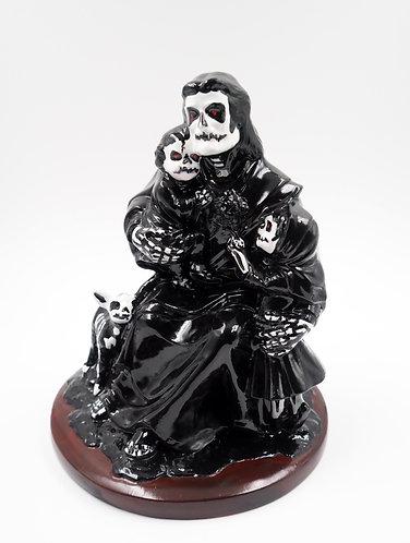 """Goth Family"" Ceramic Figurine"