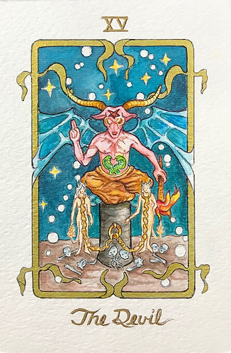 """The Devil"" Original Painting"