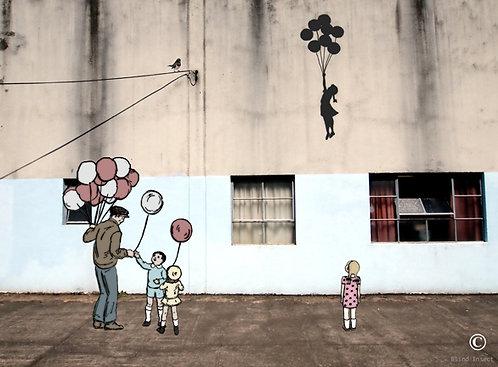 """Mind Flying"" Art print"