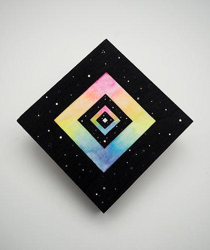 """Diamond Portal"" Original Watercolor Painting"