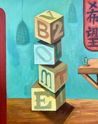 """Transitions"" Original Acrylic Painting"
