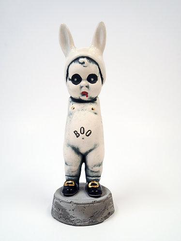 """""""Boo"""" BunBun Sculpture Figure"""