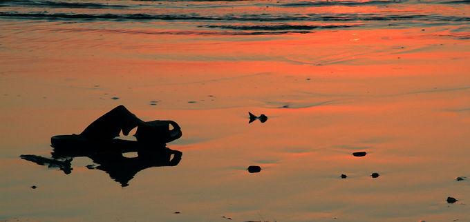 Sandal and Sunset