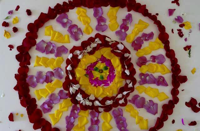 7 folk art mandala flower petals