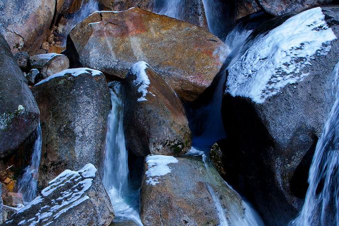 Rocks With Snow I