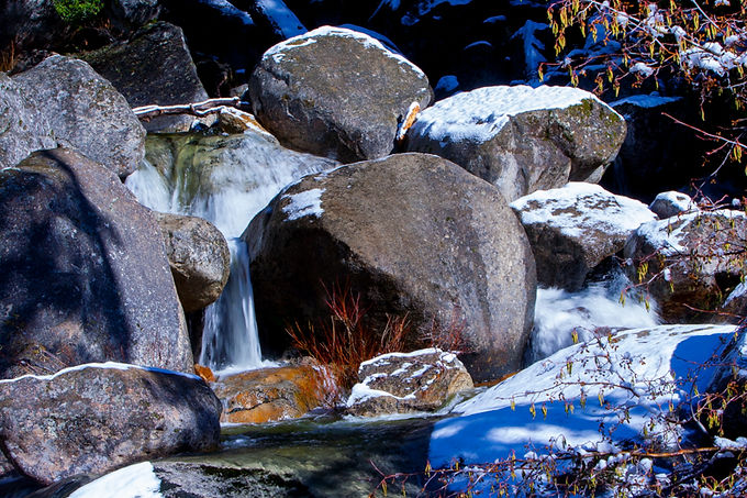 Rocks With Snow II