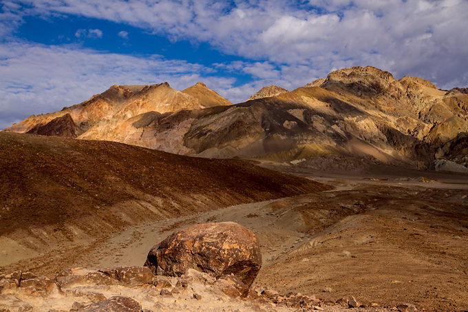 Play of Clouds, Death Valley