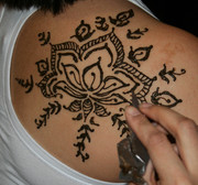 Henna at Edina art fair