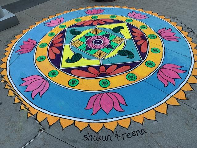 1 folk art mandala