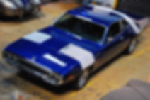 Plymouth Road Runner 72 manutenção mecânica