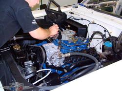 Ford Galaxie 500 oficina mecânica