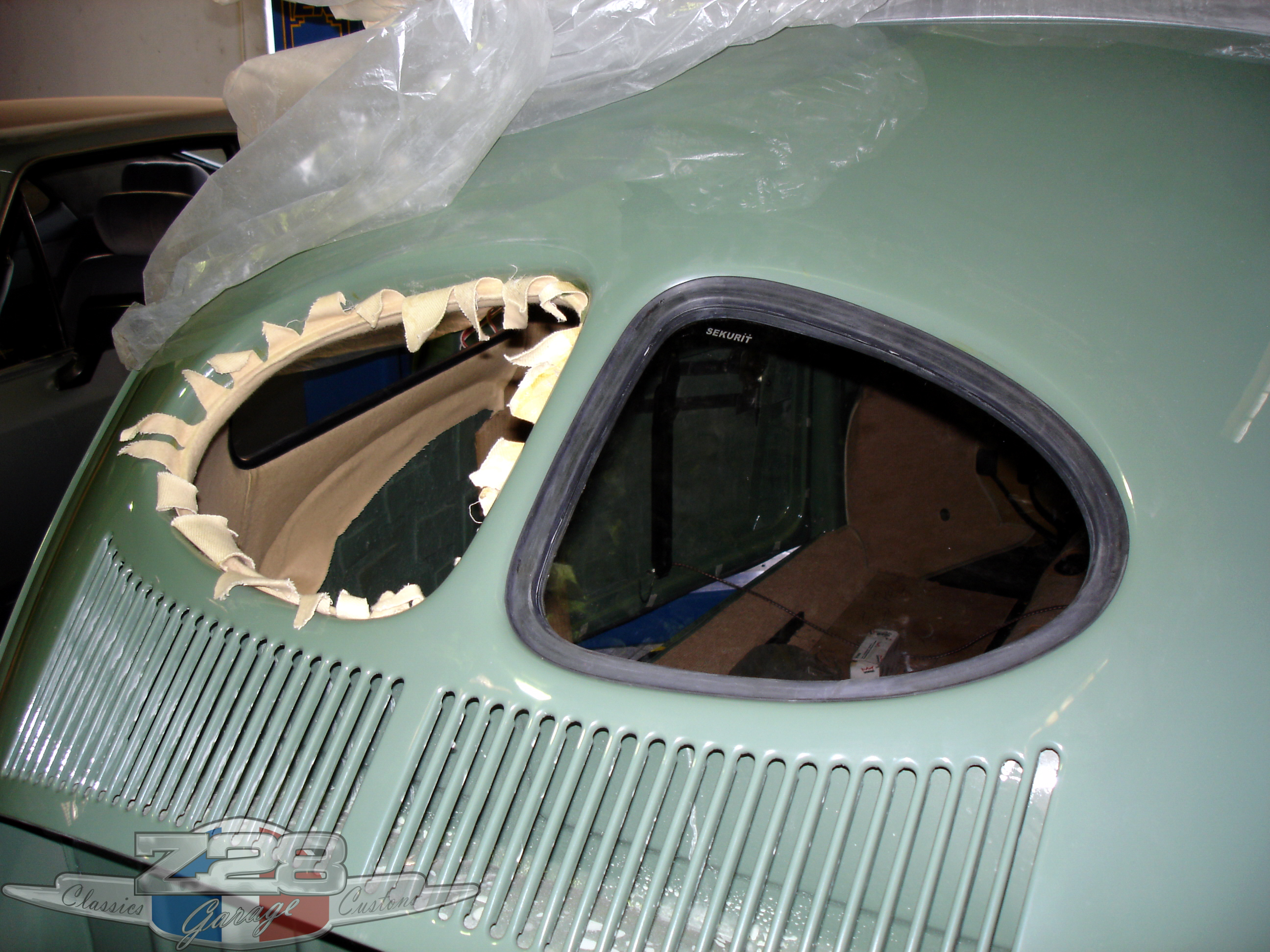 Fusca 1952 Split Window