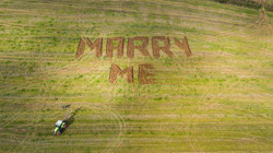 Helicopter Wedding Proposal