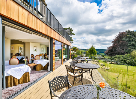 NEW LOOK at Luxury Devon Boutique Hotel- THE HORN OF PLENTY