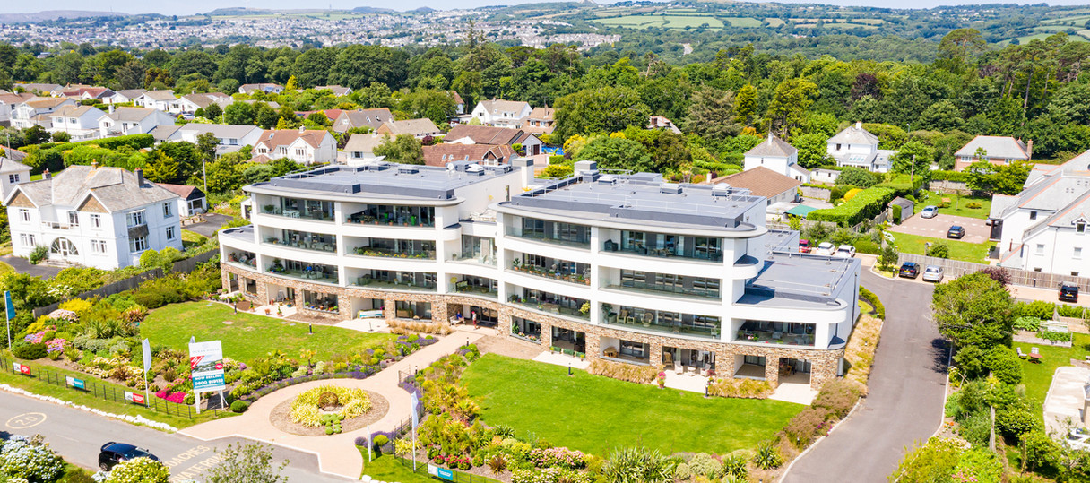 aerial drone photography estate agents property cornwall devon