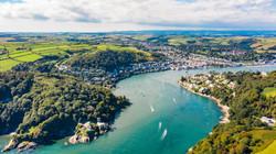 Dartmouth, Devon Aerial photography - Ki