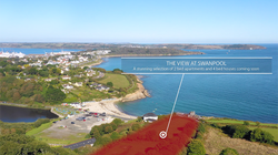 New Home aerial photography Falmouth