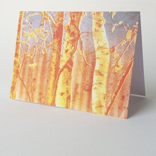 'In The Magical Wood' greeting card