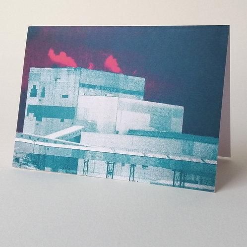 'Lynemouth' greeting card