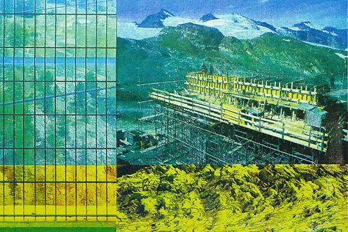 'Wilderness' screen print 286 x 410mm