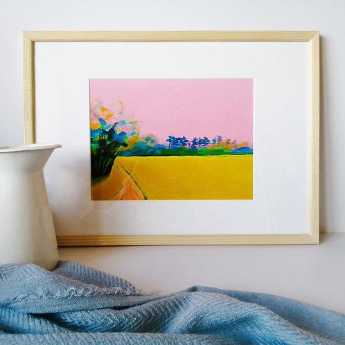 'Field ' A3 giclée print