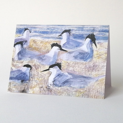 'Tern Island' greeting card