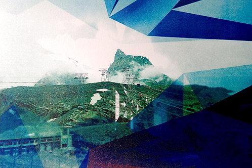 'Mountain Experience' screenprint 267 x 400mm