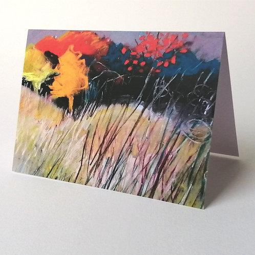 'Hope Gap Autumn' greeting card