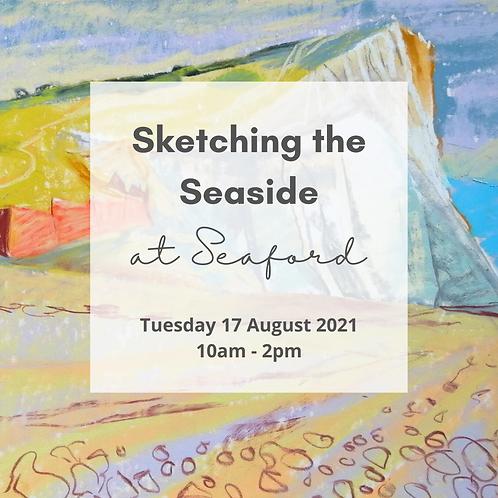 Sketching the Seaside - Seaford - 17 Aug 2021