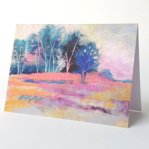 'Chailey Common IV' greeting card