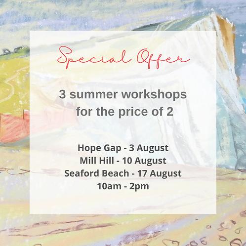 Summer Workshops Special Offer