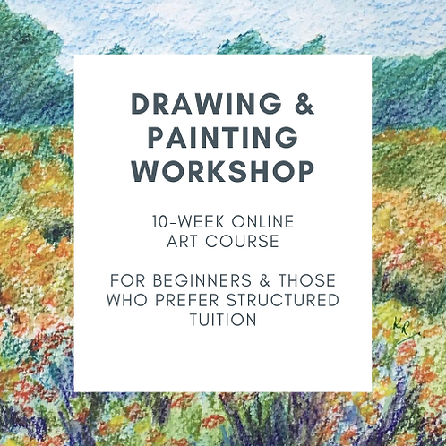 Learn to Draw & Paint - online Drawing & Painting course starts 12 April