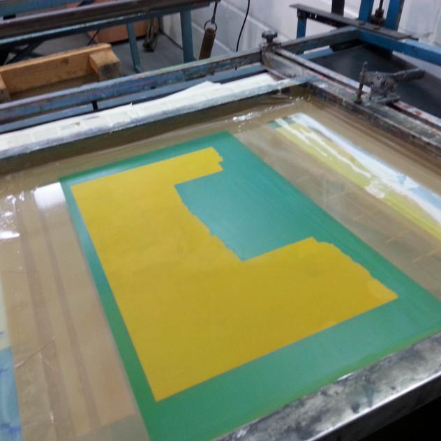 Screen ready to print