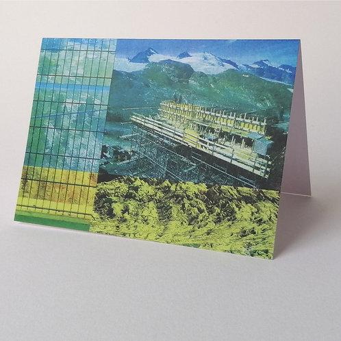 'Wilderness' greeting card