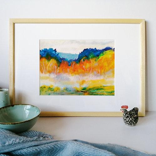 'Chailey Common I' A3 giclée print