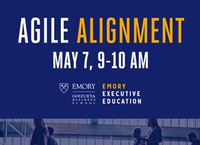 Agile Alignment - Emory Executive Education Business Over Breakfast Webinar Series