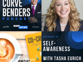 Curve Benders Podcast - Self-Awareness with Tasha Eurich