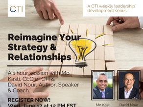 CTI Leadership: Reimagine Your Strategy & Relationships with David Nour