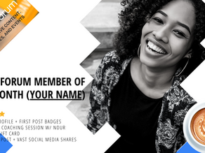 Nour Forum Member of the Month...