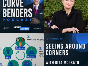 Curve Benders Podcast - Seeing Around Corners with Rita McGrath, Columbia Business School Professor