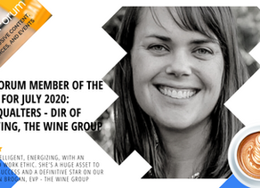 Meet Sarah Qualters of The Wine Group, Nour Forum Member of the Month - July 2020