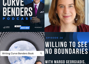 Curve Benders Podcast - Willing To See No Boundaries with Margo Georgiadis, CEO - Ancestry®