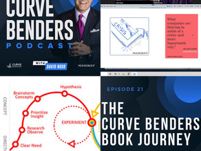 Curve Benders Podcast - Back from a Break with Book Journey Update
