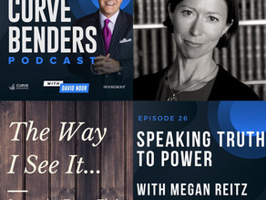 Curve Benders Podcast - Speaking Truth to Power with Megan Reitz