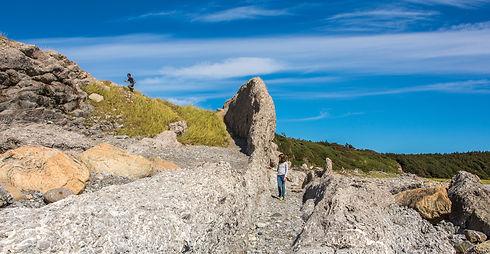 Exploring the Coastline in Broom Point W