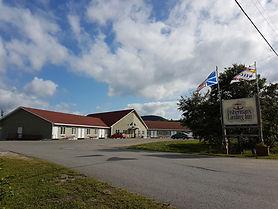 Fisherman's Landing Inn in Rocky Harbour, Newfoundland.